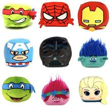 Nickelodeon Cube Mini Pillow Action Figures 4 In 3 D Ultra Stretch Cubd New - $193,10 MXN
