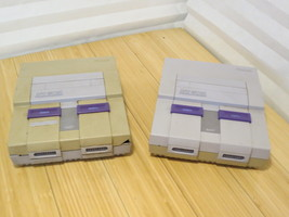 Lot of 2 Super Nintendo SNES System Console - AS-IS for Parts or Repair - $32.37