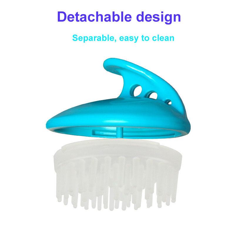 Shampoo Brush | Hair Scalp Massager, Chialstar Soft Silicone Scalp Care Brush
