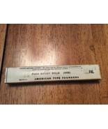 NEW Vintage Metal Letterpress Print Type ATF 12pt Goudy Bold (446) - $39.95