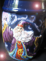 Haunted Stein Mug 100,000 Wizards Commands Of Power Extreme High Magick Mystical - $444.77