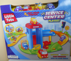 Boys Toy Cars PlaySet Little Tots Service Center Kids 3+ - $17.98