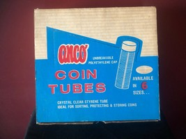 Vintage Anco Dime Coin Storage Tubes (Box of 100) NEW - $29.95