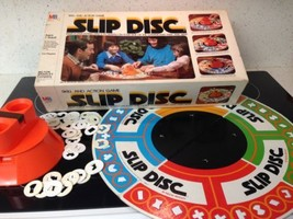 Vintage RARE 1980 Electronic Slip Disc Board Game 100% Complete/See Photos!! - $38.61