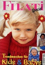Filati Special #1 Kids & Babys Knitting Magazine in German 55 Pages - $4.47