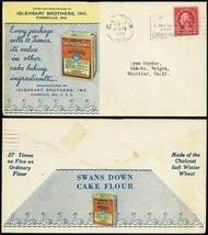 Swan's Down Cake Flour Multi Color Advertising Cover - Stuart Katz - $125.00