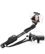 Selfie Stick Bluetooth Remote Tripod Extendable New Clamp Monopod Shutte... - $23.75