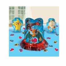 Pokemon Pikachu and Friends 3 Centerpiece Decorating Kit - ₹550.62 INR