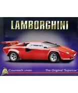 Lamborghini Contach LP400S Metal Sign - $17.95