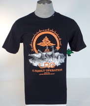 LRG Lifted Research Group Black Short Sleeve Cotton Tee T Shirt Mens NWT - $33.74