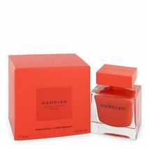 Narciso Rodriguez Rouge By Narciso Rodriguez Eau De Parfum Spray 3 Oz Fo... - $119.87
