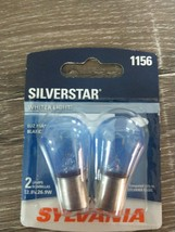2-PK SYLVANIA 1156 SilverStar High Performance Automotive Bulb~White New... - $14.83