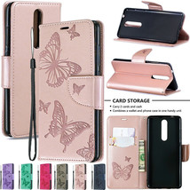 For Nokia 1.3 5.3 7.2 4.2 Patterned Magnetic Flip Leather Wallet Card Ca... - $63.45