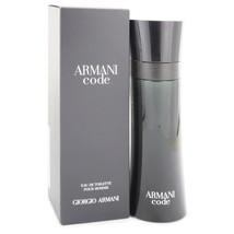 Armani Code by Giorgio Armani Eau De Toilette Spray 4.2 oz for Men - $99.77