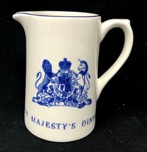 The Royal Collection Her Majesty's Dinner The Queen's Menus Creamer Made... - $33.30