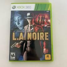 L.A. Noire Video Game MICROSOFT Xbox 360 CIB Complete 2011 Rockstar TESTED - $7.91