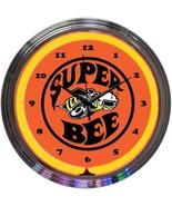 """Super Bee Play Room Neon Clock 15""""x15"""" - $69.00"""