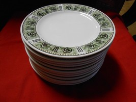 "Great Dinnerware-MAJESTICWARE By Oneida ""Incas"" Pattern..12 BREAD-DESSERT Plates - $22.58"