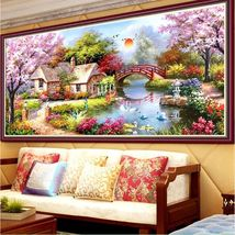 2017 Hot New 3D DIY Painting Cross Stitch Resin Diamond Embroidery Mosai... - $7.99