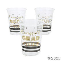 Graduation Plastic Cups - $15.25