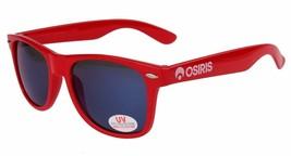 Osiris Skateboarding De Las Locs Red/Blue/Chrome adventurer traveler Sunglasses