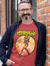 Barbarella T Shirt retro sci fi movie vintage science fiction graphic tee Fonda image 2