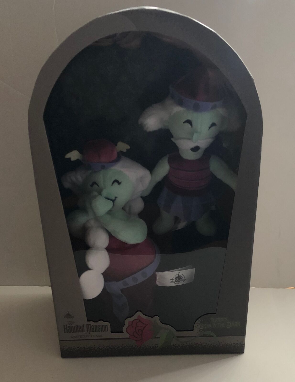 Disney Parks Haunted Mansion Opera Singer Set Glow Limited Plush New with Box