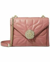 NWT MICHAEL KORS  WHITNEY LARGE PETAL QUILTED LEATHER CONVERTIBLE SHOULD... - $229.99