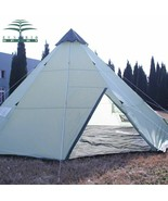 Outdoor Large Camping Tent 10 Persons Waterproof Indian Single Layer Can... - $99.95