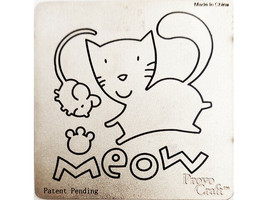 """Provo Craft Meow Cat and Mouse Die 3"""" x 3"""""""