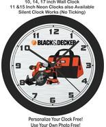 Black & Decker Tools Wall Clock-Free US Ship-Choose 1 of 2 - $27.71+
