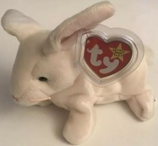 TY Beanie Baby Nibbler The Bunny Rabbit 1998 - $4.88