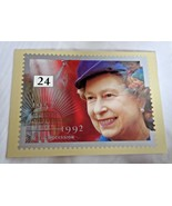 Royal Mail Post Card 40th Anniversary of Ascension PHQ 141e 24p Queen El... - $3.33