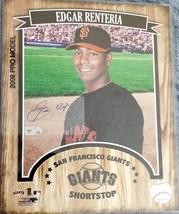 2009 MLB Rdgar Renteria Signed 8x10 Photo Giants - $24.99