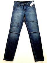 new J BRAND women jeans Jasper Patched JB001098 high rise crop 26 blue MSRP $298 image 2