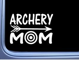 Archery Mom L752 6 inch Sticker arrow target bow Decal - $4.02