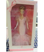 Pink Ribbon barbie doll Breast Cancer Awareness   NRFB - $47.45