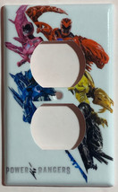 Power rangers Light Switch Outlet Toggle Rocker Wall Cover Plate Home decor image 3