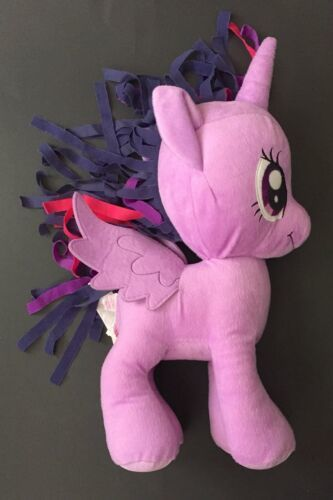 Twilight Sparkle Purple Unicorn Pegasus My Little Pony Plush Stuffed Animal Toy
