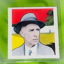 VINTAGE MLB CONNIE MACK ATHLETICS HOF 1978 BERT SUGAR DOVER REPRINT  - $1.00