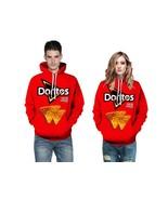 Adult Couples Doritos Pullover Sports Sweatshirt Jacket Hoodie Pullover ... - $19.45