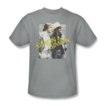 Simon and Simon T-shirt retro 70s 80s classic TV graphic printed NBC308 Gray image 2