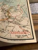 Walker & Co. Antique 1903 Lot Brookline Boston Road Map Cyclist Iver Johnson image 4