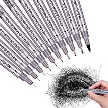 Precision Micro-Line Pens, Fineliner, Multiliner, Waterproof Archival In... - $10.99