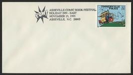 """Asheville Comic Book Festival Nov 25, 1995, """"Toonerville Folks"""" - $1.00"""