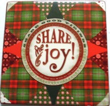 Dayspring Trivet Hot Plate Share Good Tidings Share The Joy Luke 2:10 NIB  - $13.92
