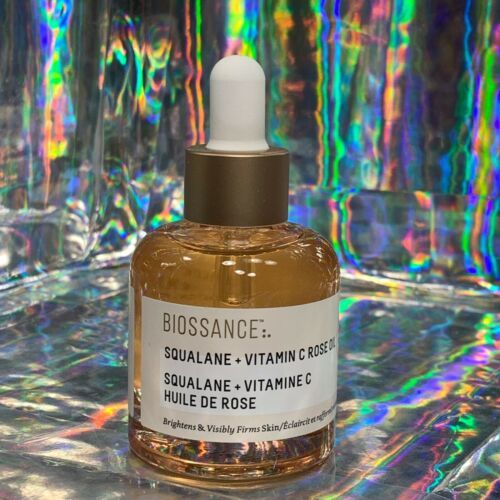 Biossance Antique Rose Squalane + Vitamin C Rose Oil Full Size 1oz (30mL)