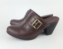 Boc Born Mules 7 Brown Buckle Strap Pumps Z - $28.05