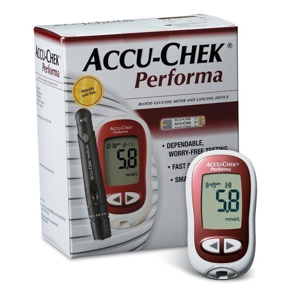 Roche Accu-Chek Performa Nano Blood Glucose Meter System / Diabetic Self Testing