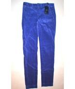 New NWT $145 Ralph Lauren Polo Golf Corduroy Pants Womens Purple 0 Work ... - $42.00